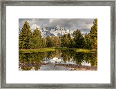 Schwabacher's Landing Framed Print by Charles Warren