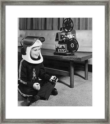 Sci-fi Film Framed Print by Archive Photos