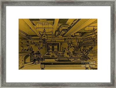 Scientific Expeditions Framed Print by Science Source