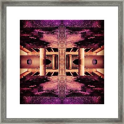 #scifi #abstract #art #onlyiphone Framed Print