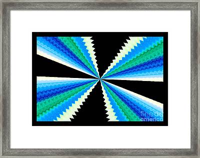 Scissor Hands Framed Print