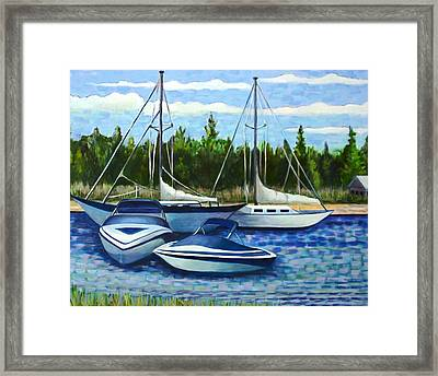 Scituate Harbor Framed Print