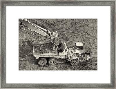 Scoop Framed Print by Patrick M Lynch