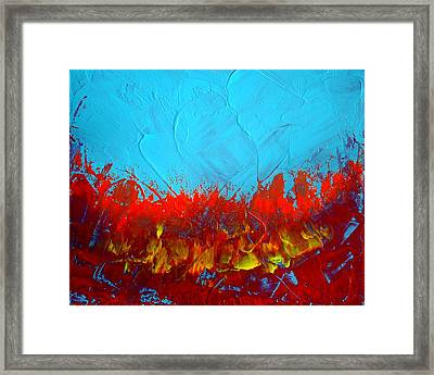 Scorched Framed Print by Holly Anderson