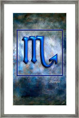 Scorpio  Framed Print by Mauro Celotti