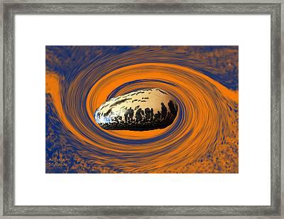 Scorpio Star Framed Print by Augusta Stylianou