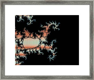 Framed Print featuring the digital art Scorpion King by Ester  Rogers