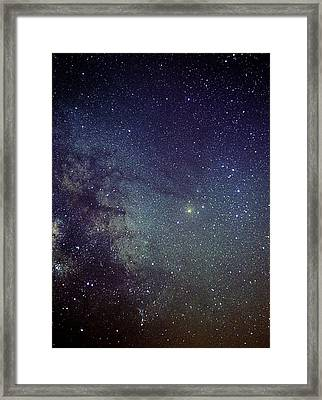 Scorpius Constellation Framed Print by John Sanford