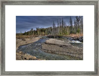 Scotch Creek Bc Framed Print by Sandra Sigfusson