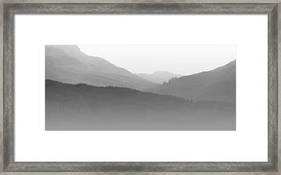 Scotch Mist Framed Print by Lynn Bolt