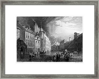 Scotland: Aberdeen, 1833 Framed Print