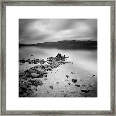 Scotland Loch Lomond Framed Print by Nina Papiorek