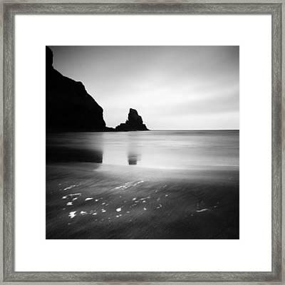 Scotland Talisker Bay Framed Print by Nina Papiorek