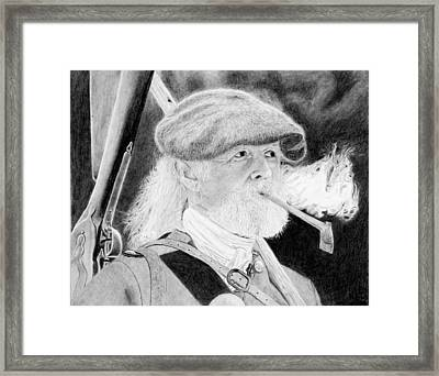Scotsman Framed Print by Kenny Chaffin