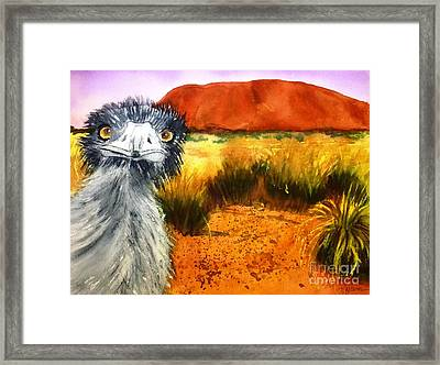 Scout - Original Sold Framed Print by Therese Alcorn