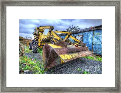 Scraper King 3.0 Framed Print