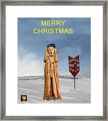Scream Christmas Framed Print