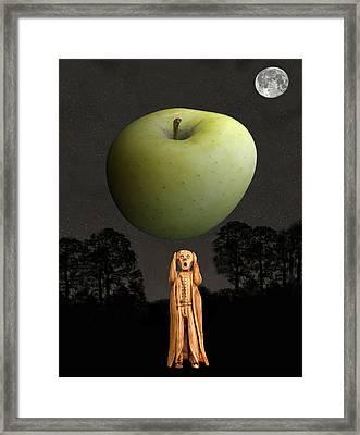 Scream New York Framed Print by Eric Kempson