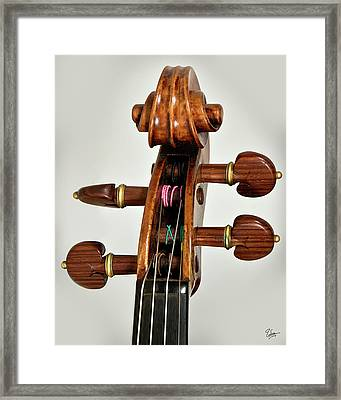Framed Print featuring the photograph Scroll Front by Endre Balogh