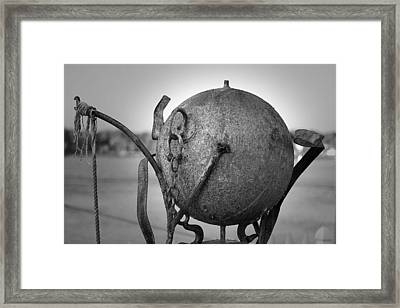 Sculpture Framed Print by Eric Gendron