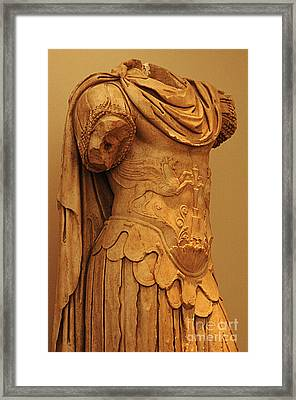 Sculpture Olympia 2 Framed Print by Bob Christopher