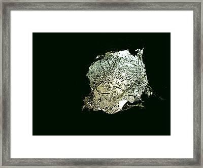Sculpture Splash Framed Print by Robert Cunningham