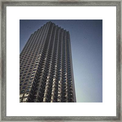 Se. Financial Center - Miami Framed Print