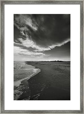 Sea And Sky Framed Print by Steven Ainsworth