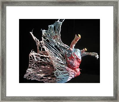 Sea Creature 1 Framed Print by Kyle Ethan Fischer