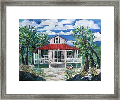 Sea Crest Framed Print