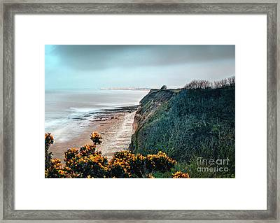 Sea Fret In The Twilight Zone Framed Print