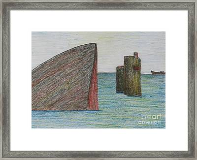 Sea Front Framed Print by Nedunseralathan R