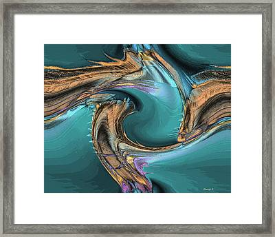 Sea Magic Framed Print