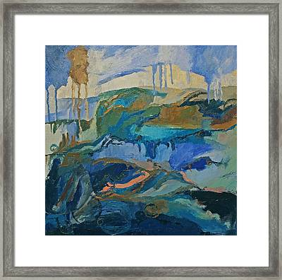 Sea Of Forgetfulness Framed Print by Missy Borden