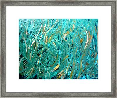 Sea Of Grass Framed Print