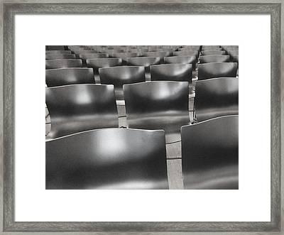 Sea Of Seats I Framed Print