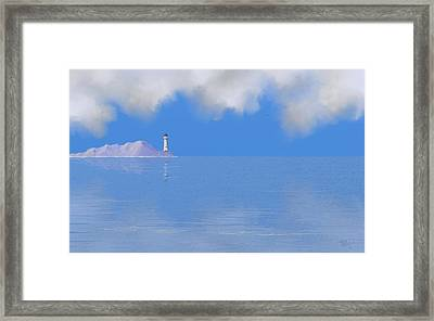 Sea Of Tranquility Framed Print by Tony Rodriguez