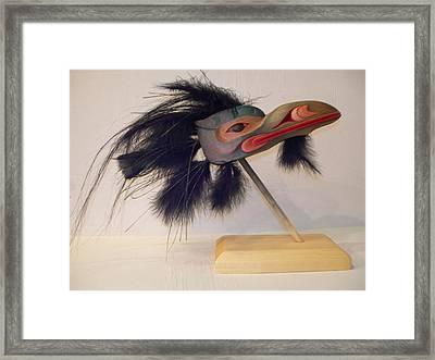 Sea Raven Framed Print by Shane  Tweten