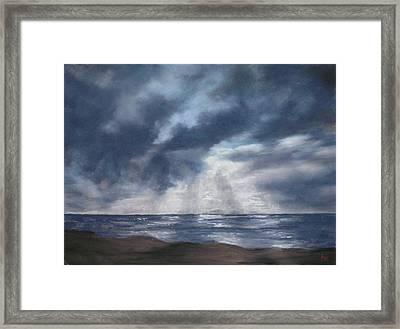 Sea Rays Framed Print by Marlene Kingman