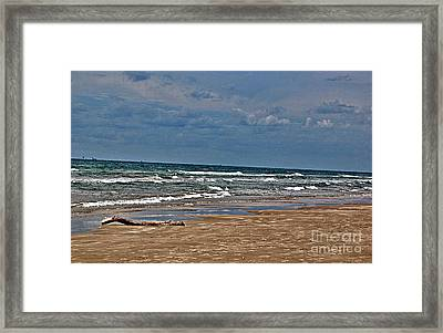 Sea Sand Framed Print by Ken Williams
