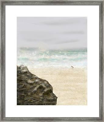 Sea Song Framed Print by Peri Craig