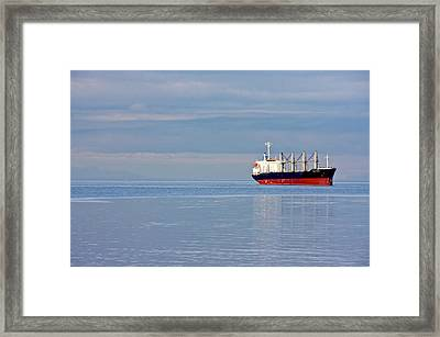 Framed Print featuring the photograph Sea To Sky by Scott Holmes