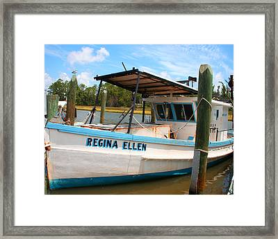Sea Worthy Framed Print by Barry Jones