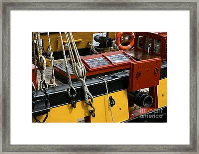 Framed Print featuring the photograph Sea Worthy by Elf Evans