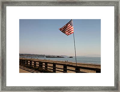 Seacliff Beach Framed Print