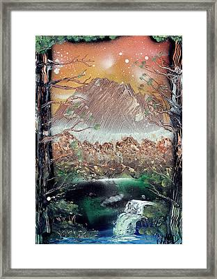 Secret Forest Framed Print by Marc Chambers