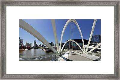 Seafarers Bridge Framed Print by Robert Lacy