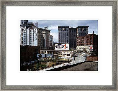Seagrams 7 Framed Print by Theo Bethel