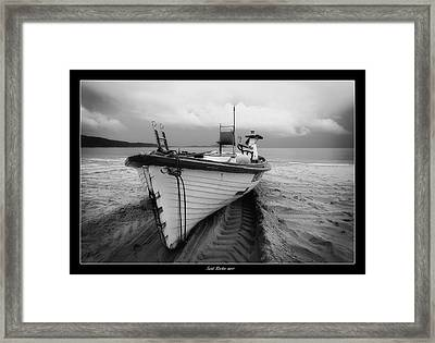 Framed Print featuring the digital art Seal Rocks 02 by Kevin Chippindall