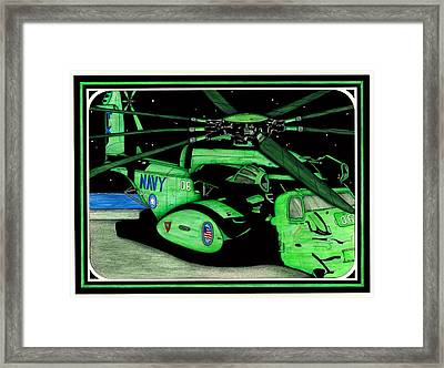 Seal Team 6 Framed Print by Norman Sandow